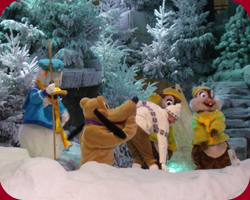 Kerstshow in Disneyland Paris